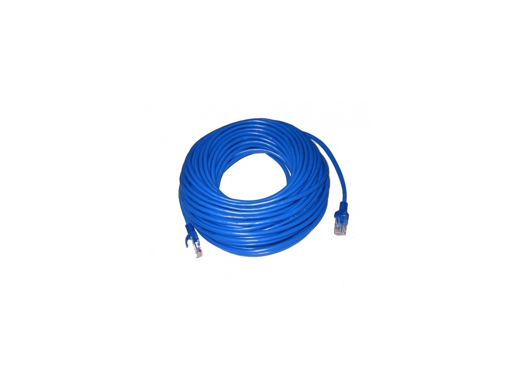 Patchcord CAT 6 - 10 m  - Azul