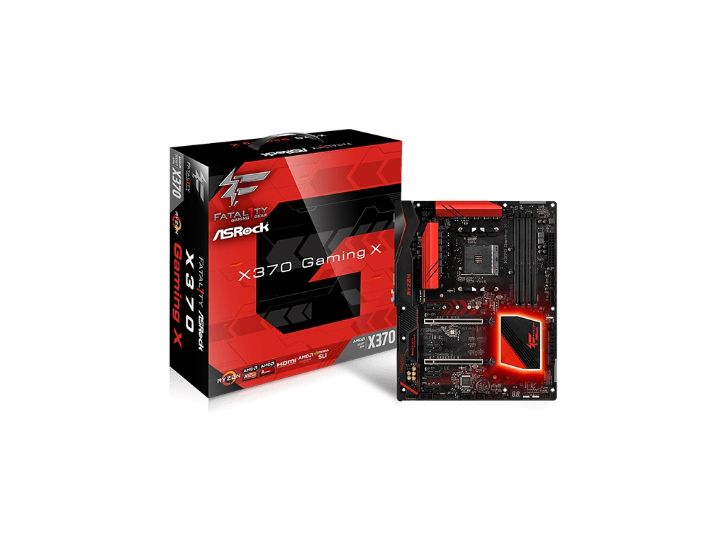 Motherboard Asrock X370 -hdv Am4 DDR4