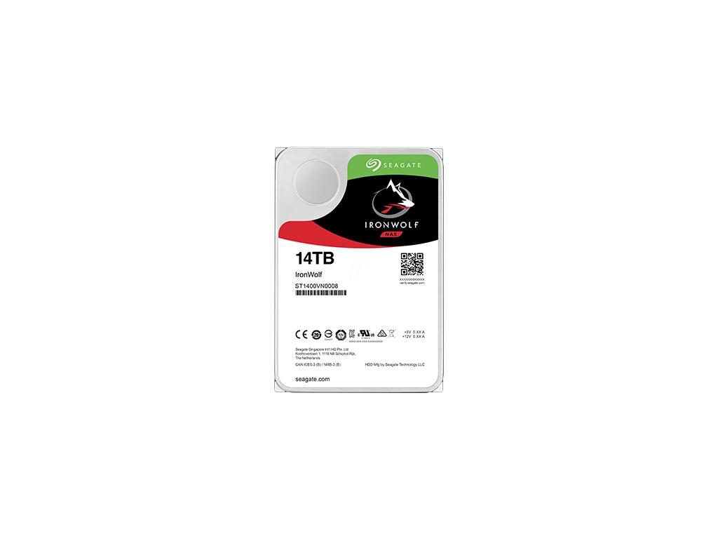 "Disco duro Seagate IronWolf 14 TB interno - 3.5"""