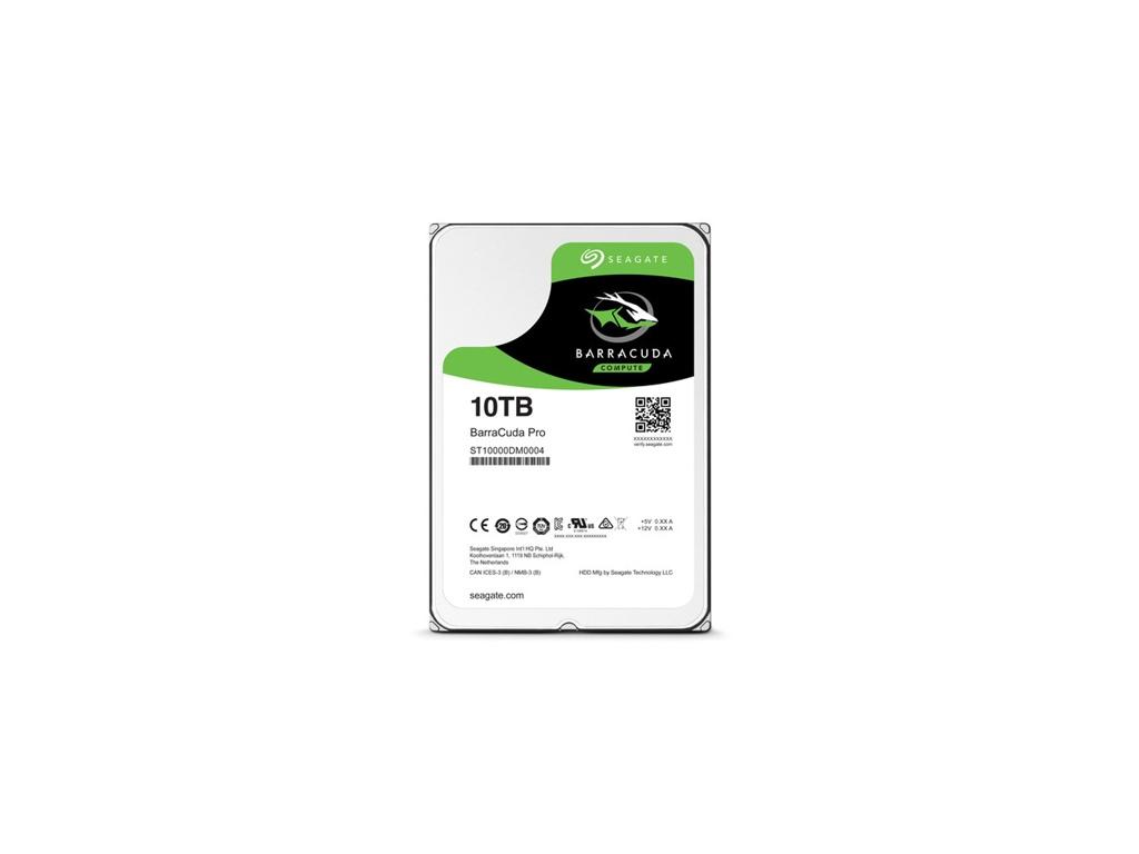 """Disco duro Seagate Barracuda Pro 10 TB interno - 3.5"""""""