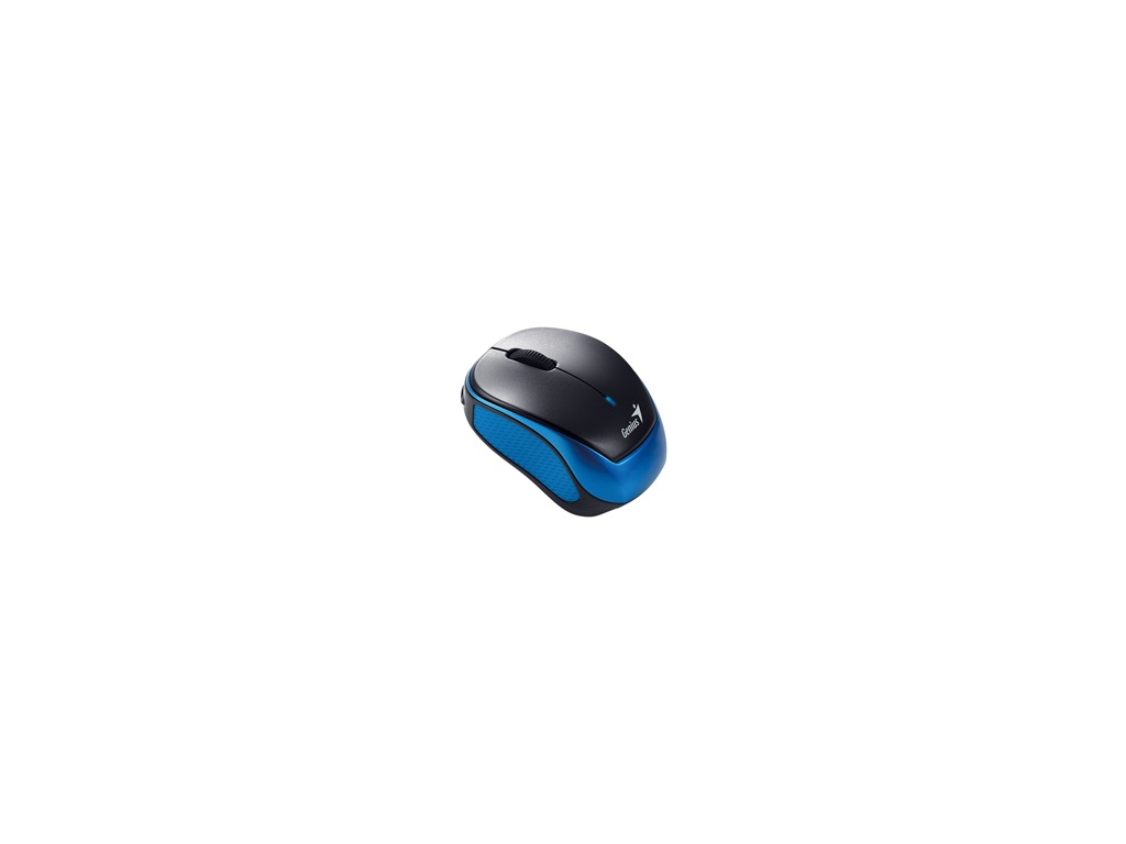 Mouse Genius Micro Traveler 9000R negro y azul