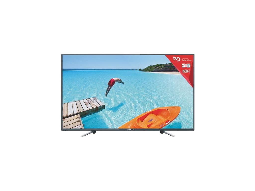 """Televisor LED Pantalla de 24"""" HD Punktal PK-TD236D15A. Sintonizador digital"""