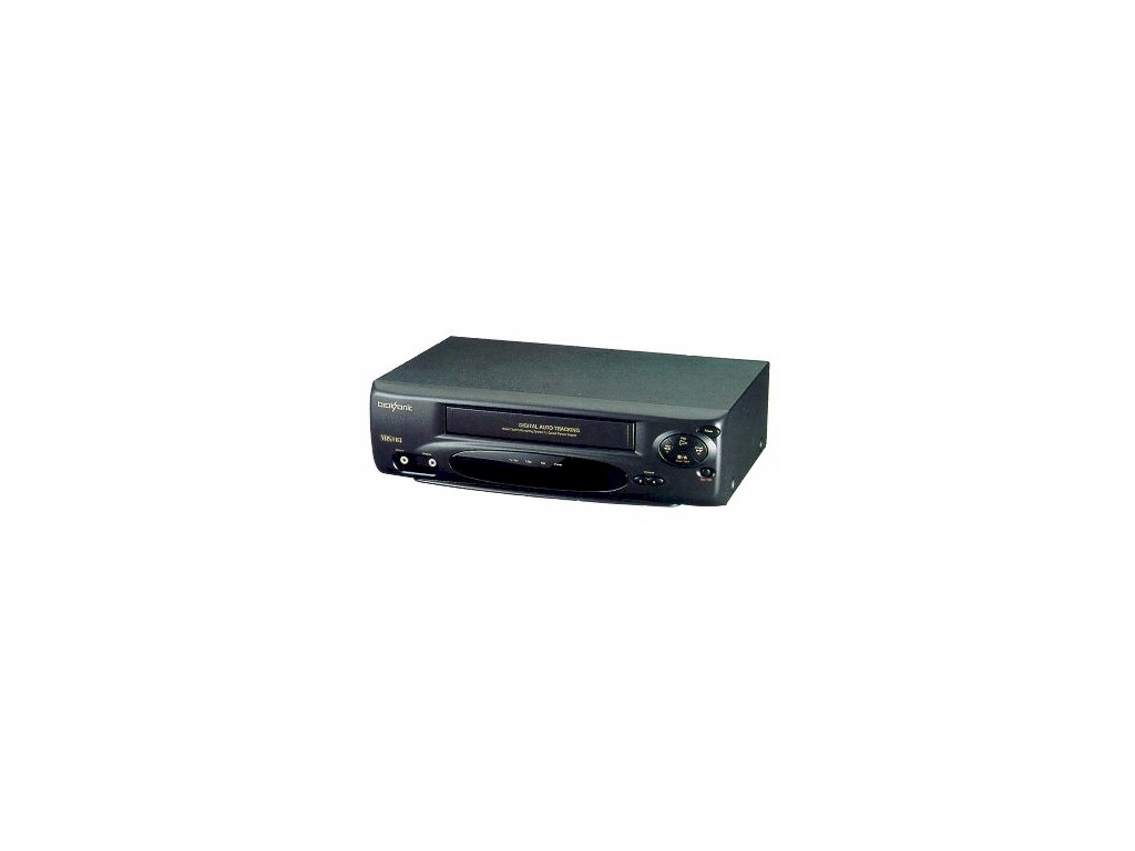 Video grabador 4 cabezas - Broksonic VHSA-6741