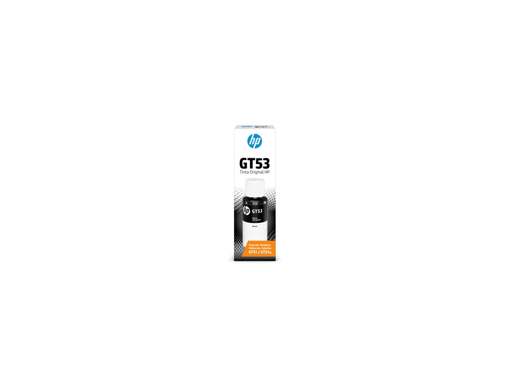 Botella de Tinta Original HP 1VV22AL GT53 Negro