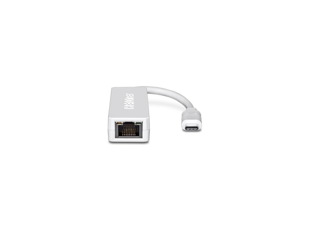 Adaptador TrendNet TUC-ETG de USB-C (tipo C) a Gigabit Ethernet .
