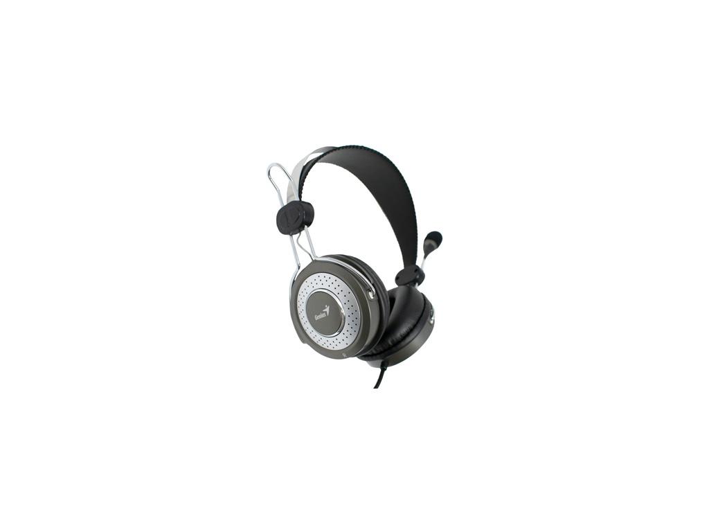 Auriculares Genius con microfono y anulacion de ruido Modelo HS-04S