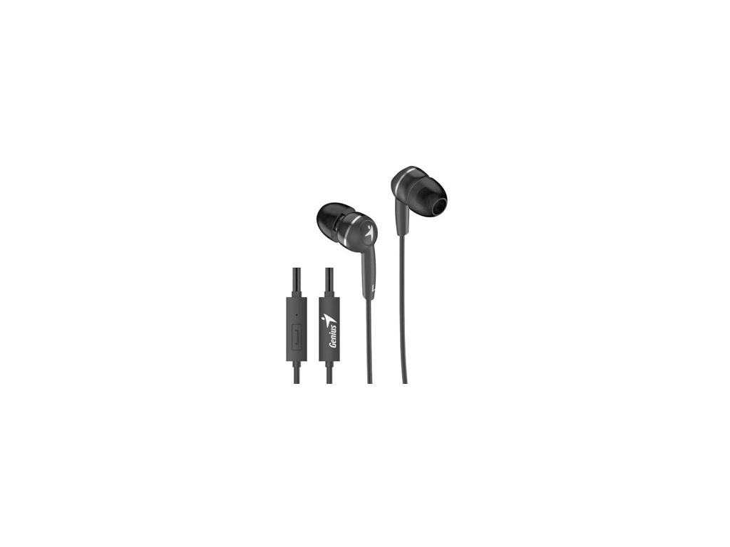 Auriculares Genius HS-M320 c/microfono Negro
