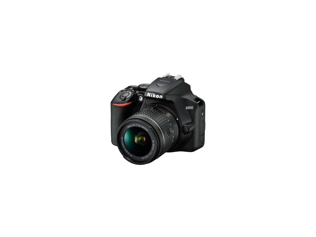 Cámara Nikon D3500 Reflex + Lente 18 - 55 + Lente 70 -300 + Mochila Transporte.