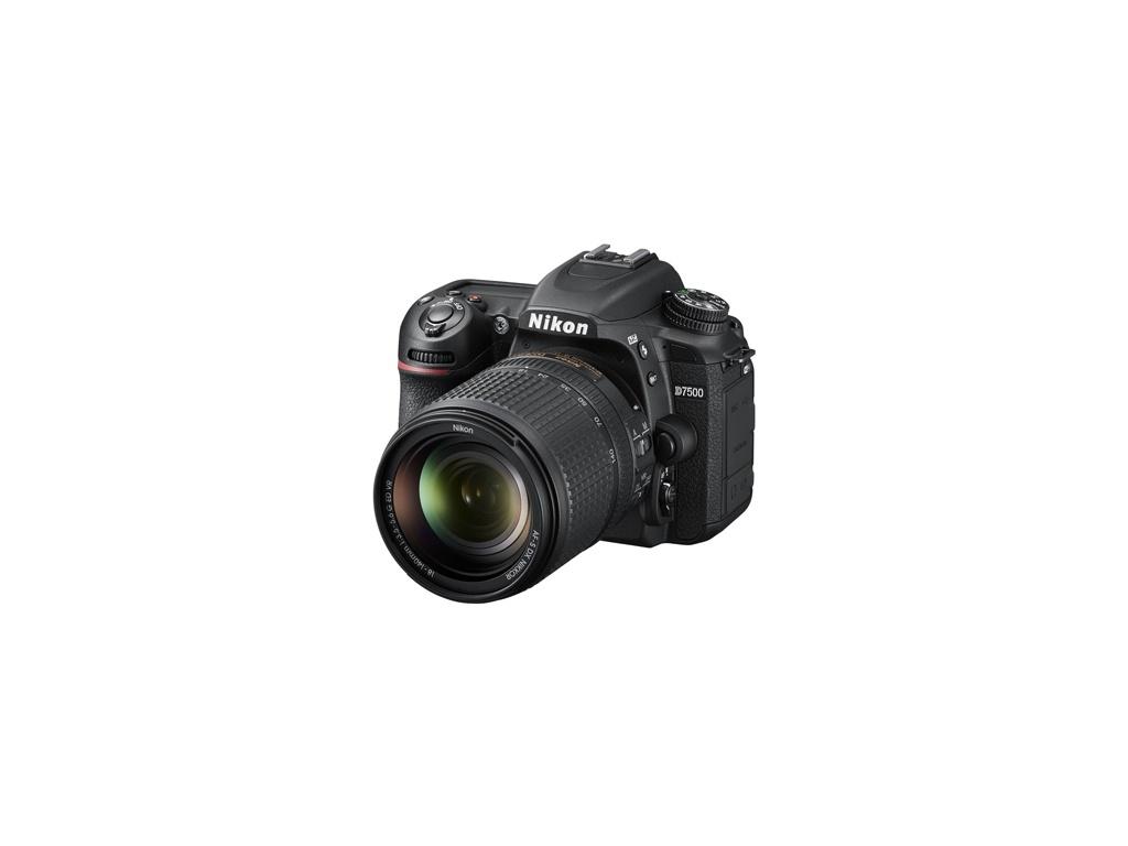 Cámara Digital Nikon D7500 con lentes 18-55mm AF-P VR + 70-300mm AF-P VR + Bolso Nikon + Tarjeta 32