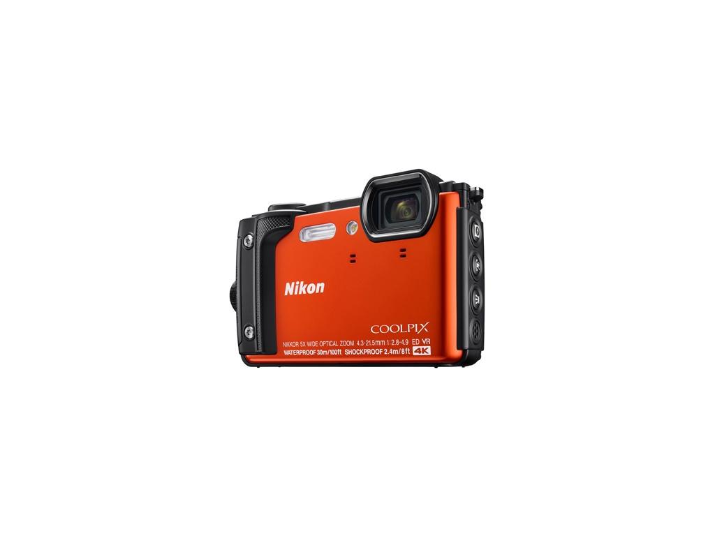 Cámara digital Nikon COOLPIX W300 (naranja)