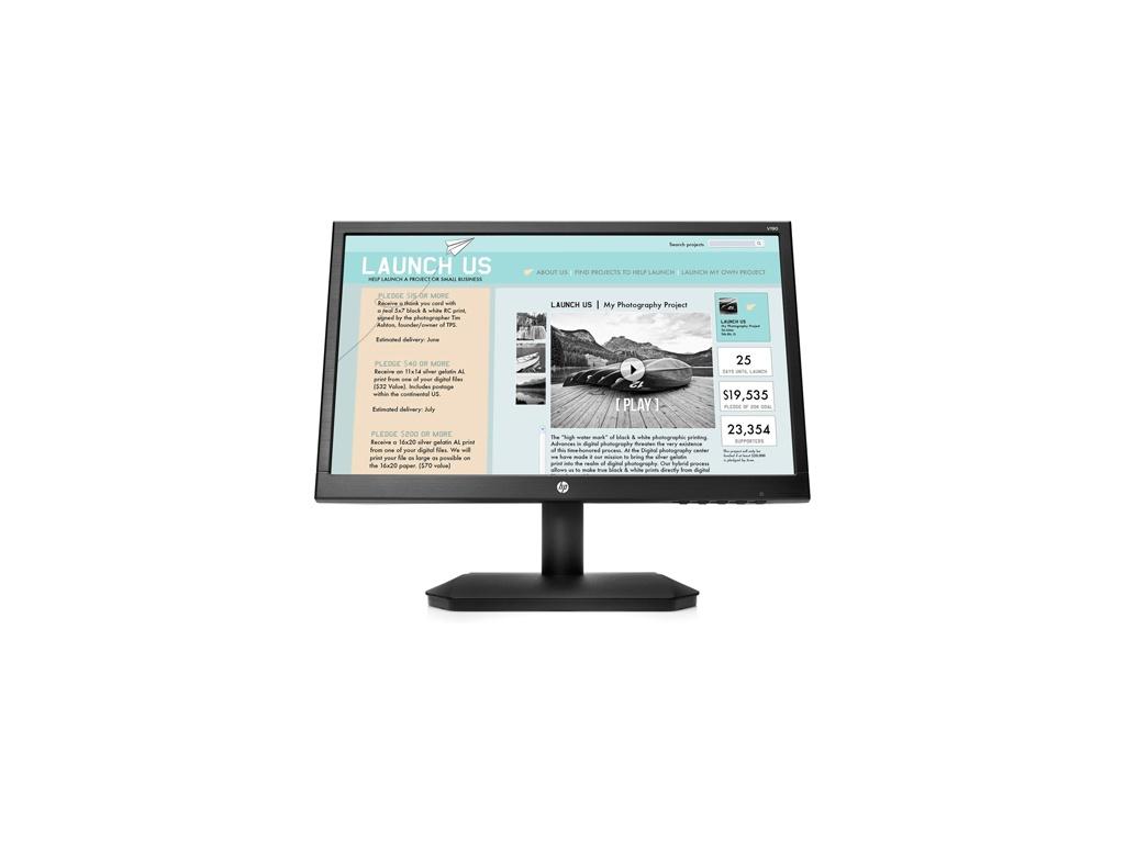 "Monitor HP V190 (2NK17AA). Tamaño: 18.5"""