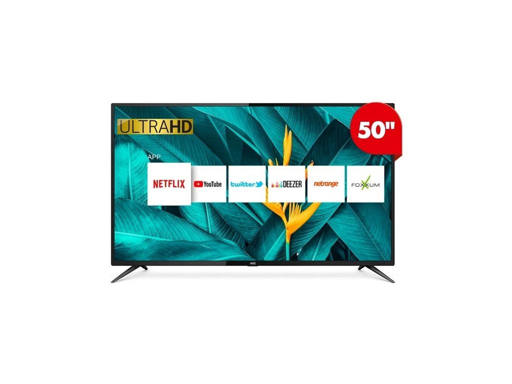 "Televisor AOC LE50U6285 Smart 4k de 50"""