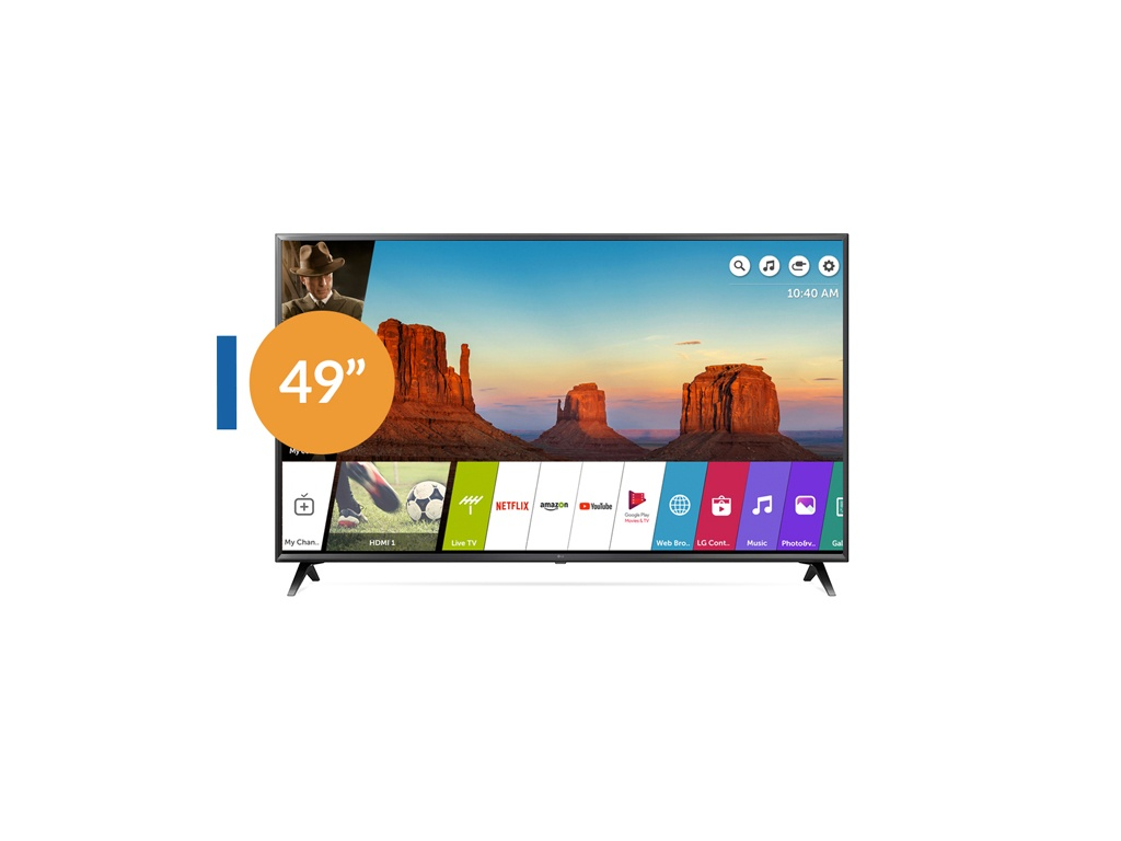 "LG TV 49"" UHD SMART 49UK6200"