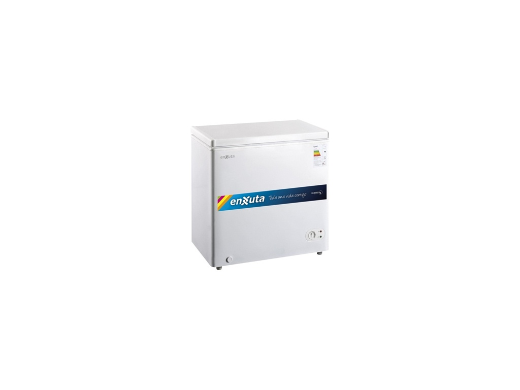 Freezer Horizontal Enxuta FHENX200. Capacidad: 155 Litros
