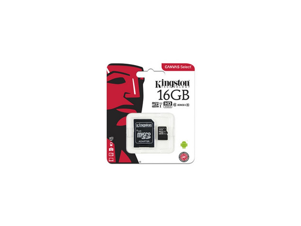 Memoria Kingston SDCS2/16GB microSDHC