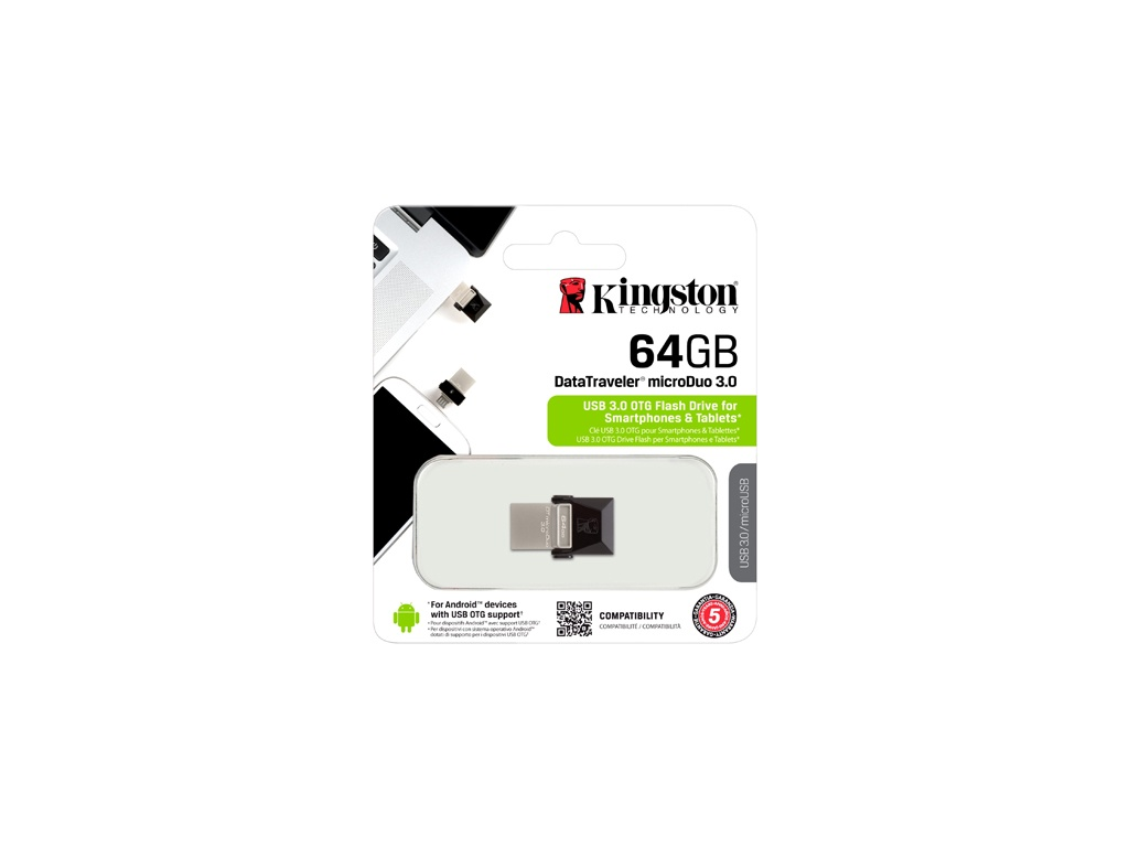 Pendrive Kingston DTDUO3/64GB