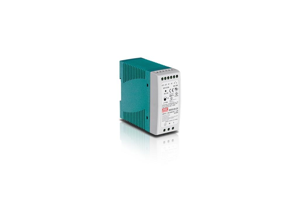 Fuente de Alimentación TrendNet TI-M6024 DIN-Rail Industrial de Salida Única de 60 W