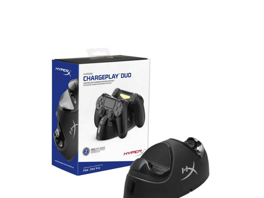 Base Doble HyperX - Cargador para Joystick PS4