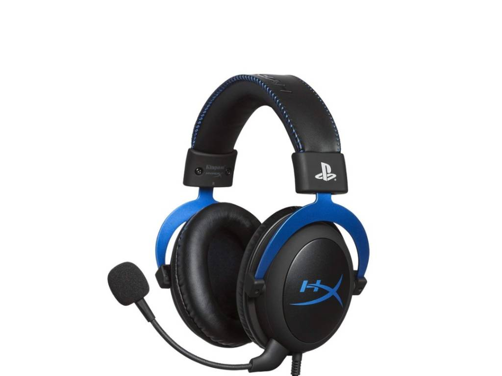 Vincha Gaming HyperX Cloud PS4 Systems HX-HSCLS-BL/AM