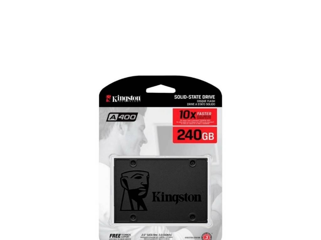 Disco Sólido Kingston 240 GB SATA 3 - 2.5