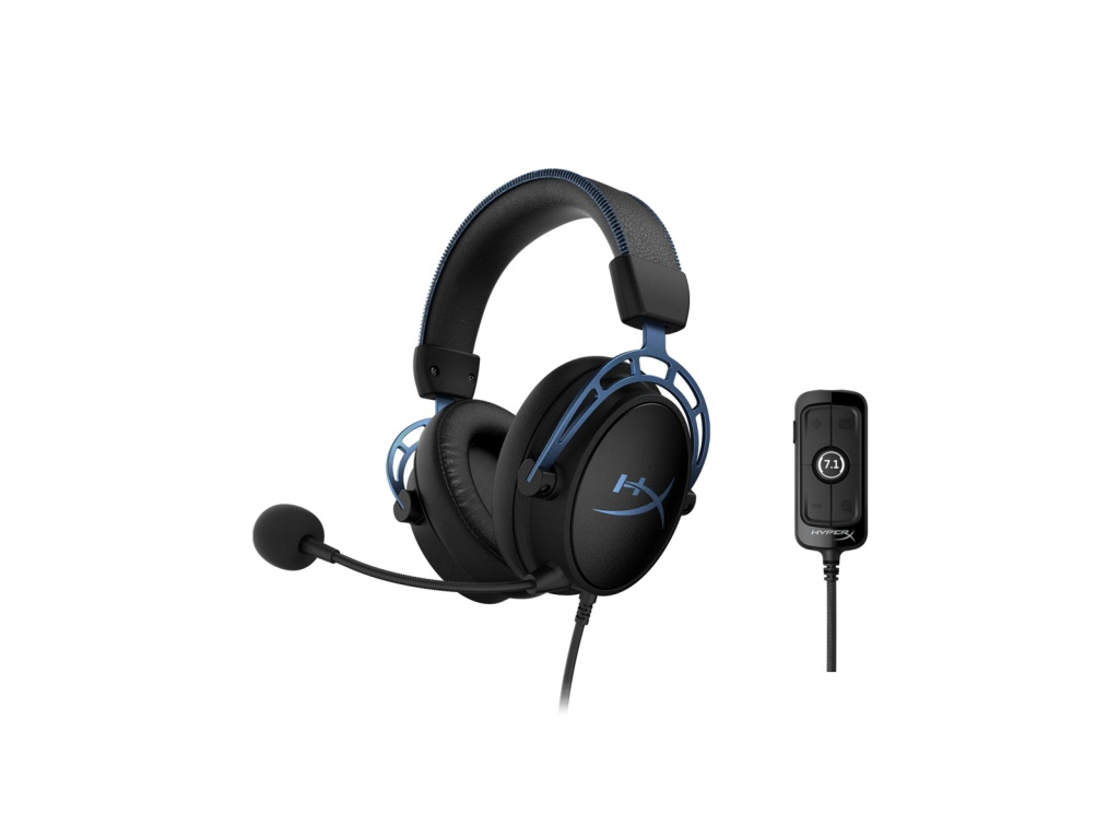 Vincha Gaming HyperX Cloud Alpha S azul