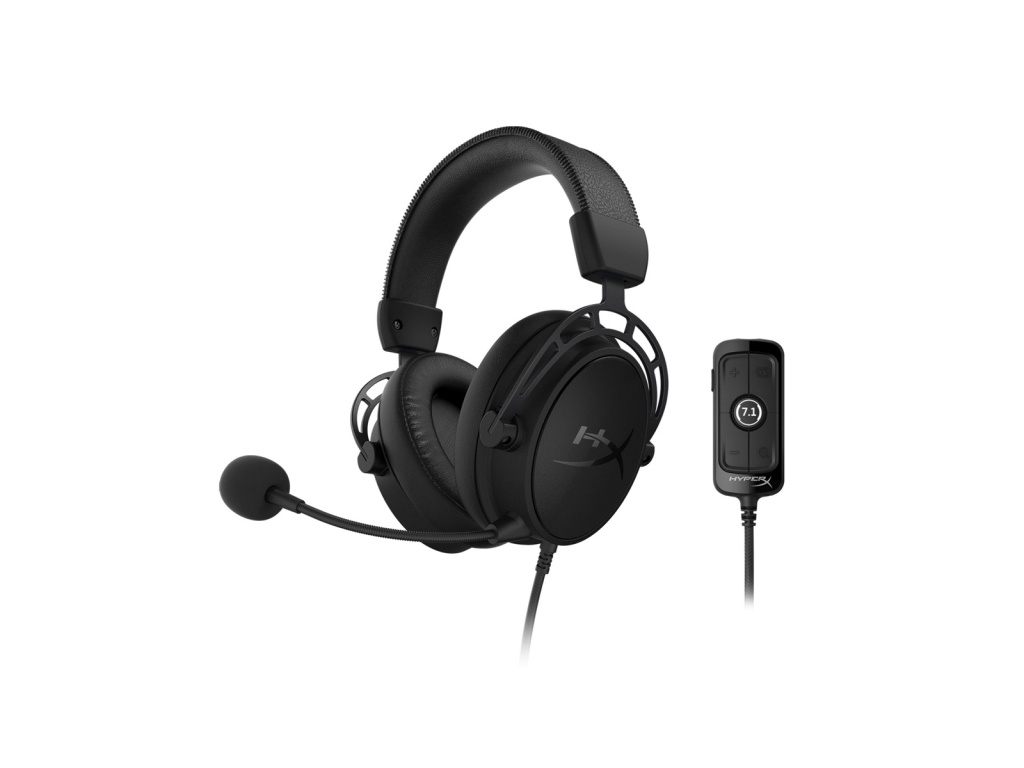 Vincha Gaming HyperX Cloud Alpha S negro