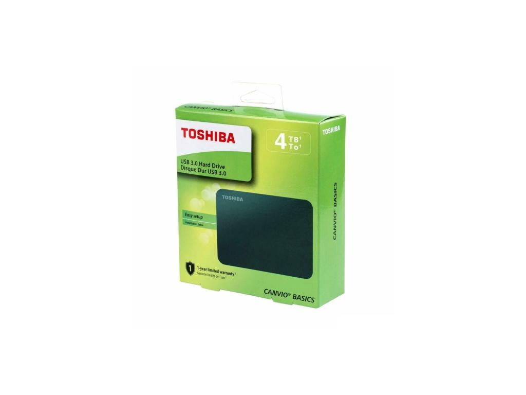 Disco Externo Toshiba Canvio Basics 4TB