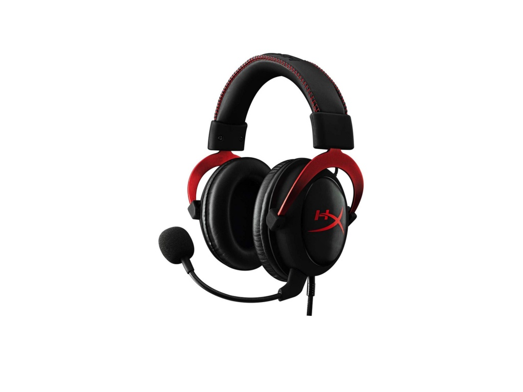 Vincha Gaming HyperX Cloud II Red