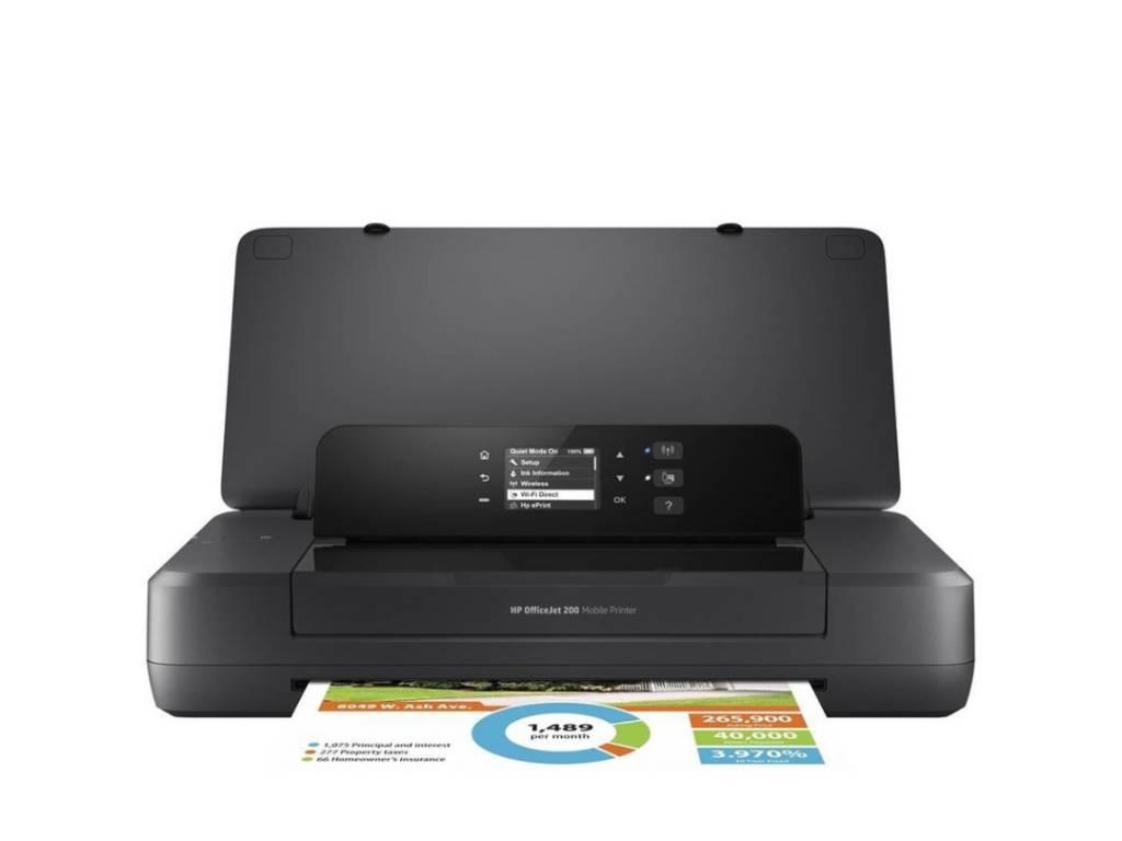 Impresora Chorro de Tinta HP Portátil OfficeJet 200