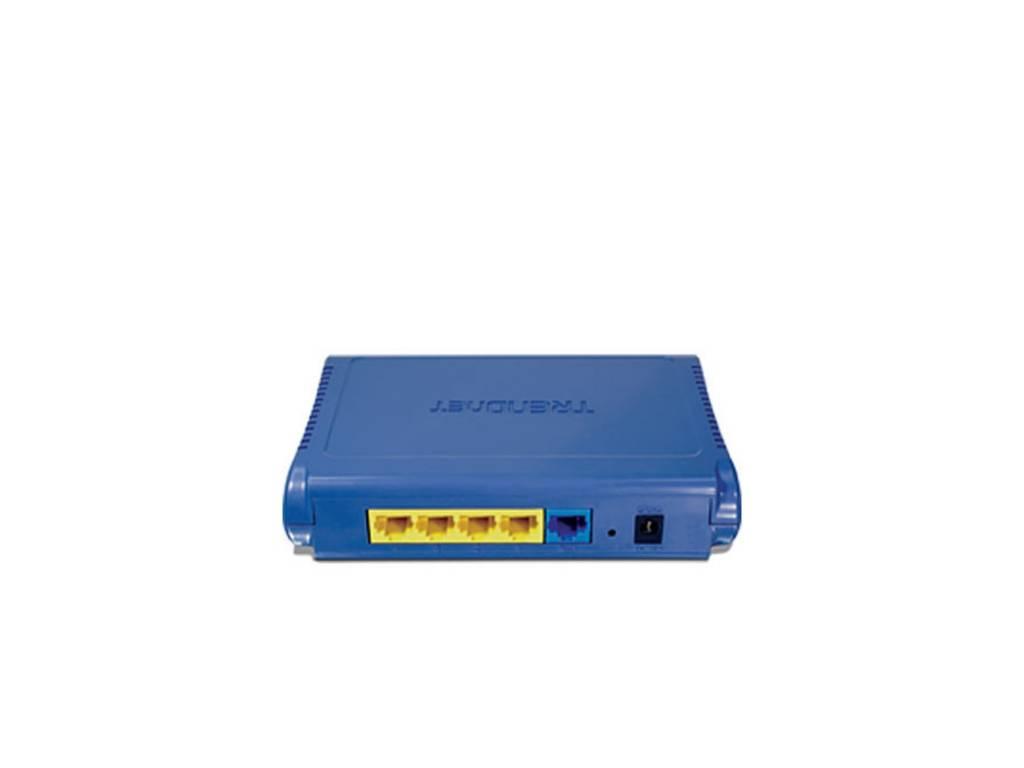 Router 54mb TrendNet 4 Puertos TW100-S4W1CA