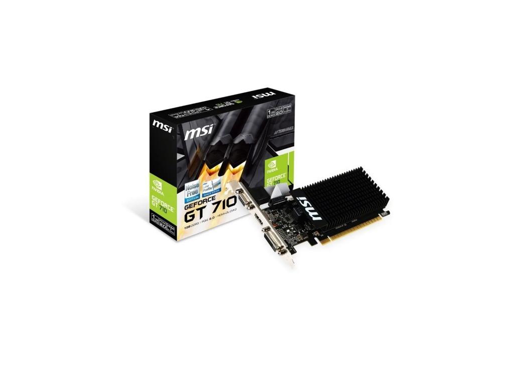 Tarjeta de Video MSI GT 710 1GD3H LP