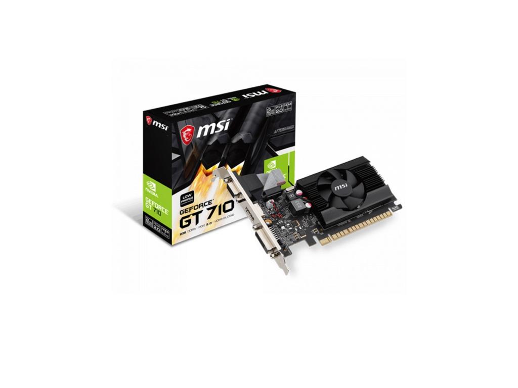 Tarjeta de Video MSI GT 710 2GD3 LP