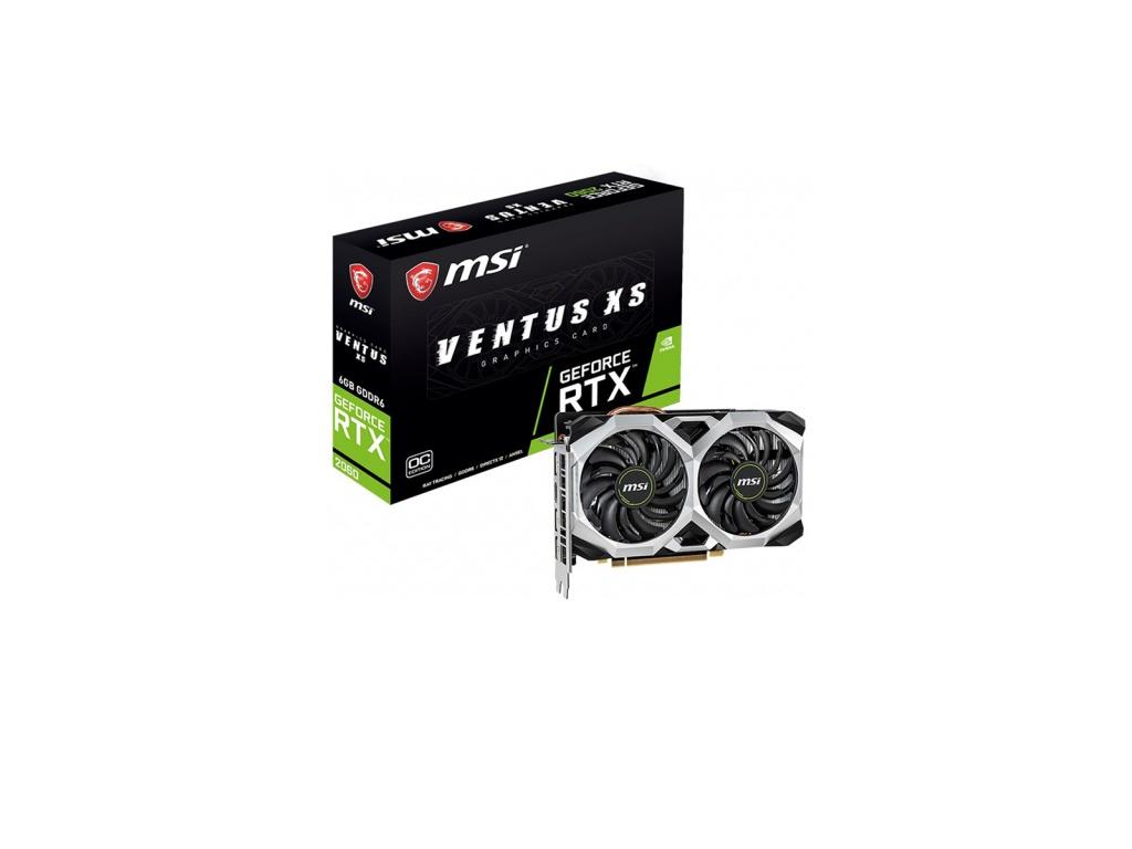 Tarjeta de video MSI GeForce GTX 1660 TI VENTUS XS 6G OC