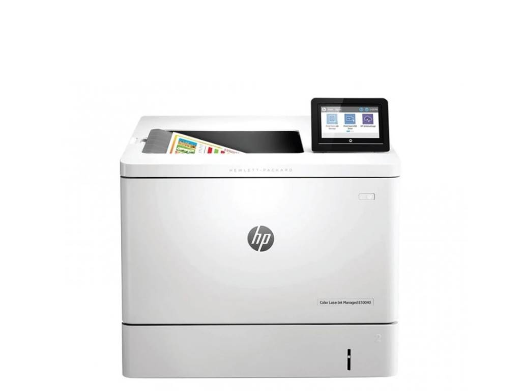 Impresora Laser Color LaserJet HP Managed E55040dw