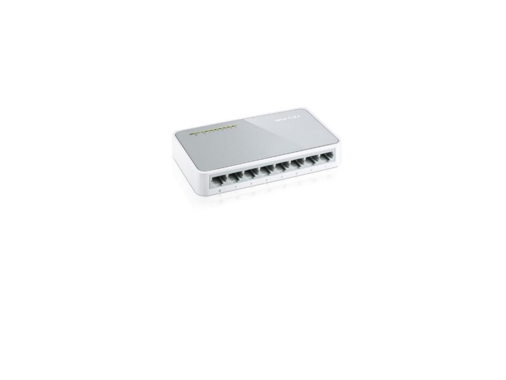 Switch TP-Link TL-SF1008D 8 puertos 10/100 (TSF1008D)