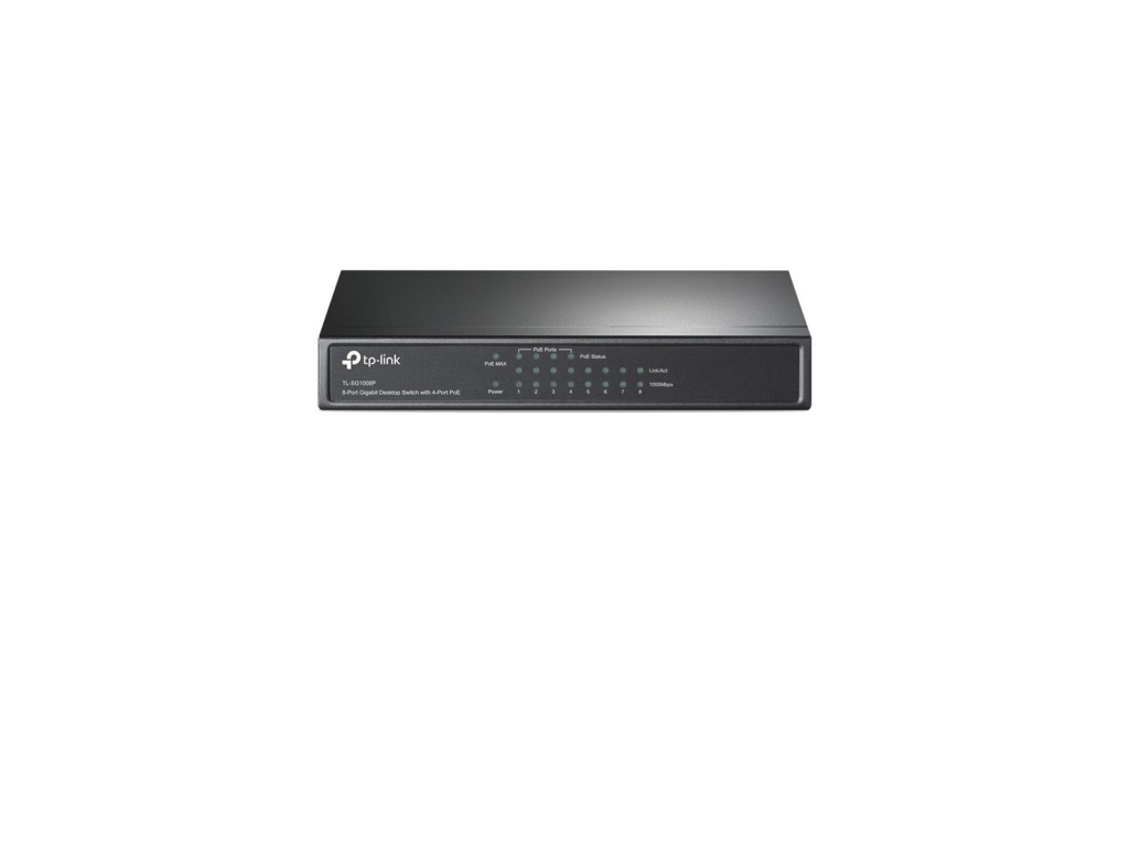 SwitchTp-Link (TL-SG1008P) 8-port Gbit con 4 Puertos PoE