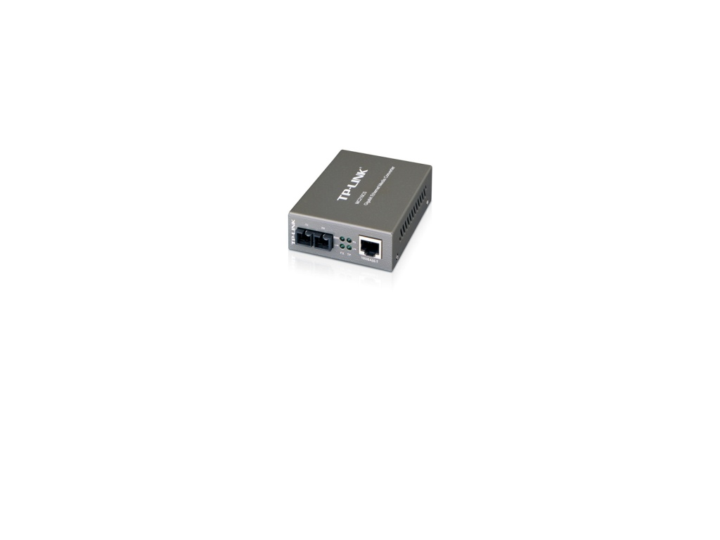 Convertidor Multimedia de Modo Individual de 10/100/1000Mbps