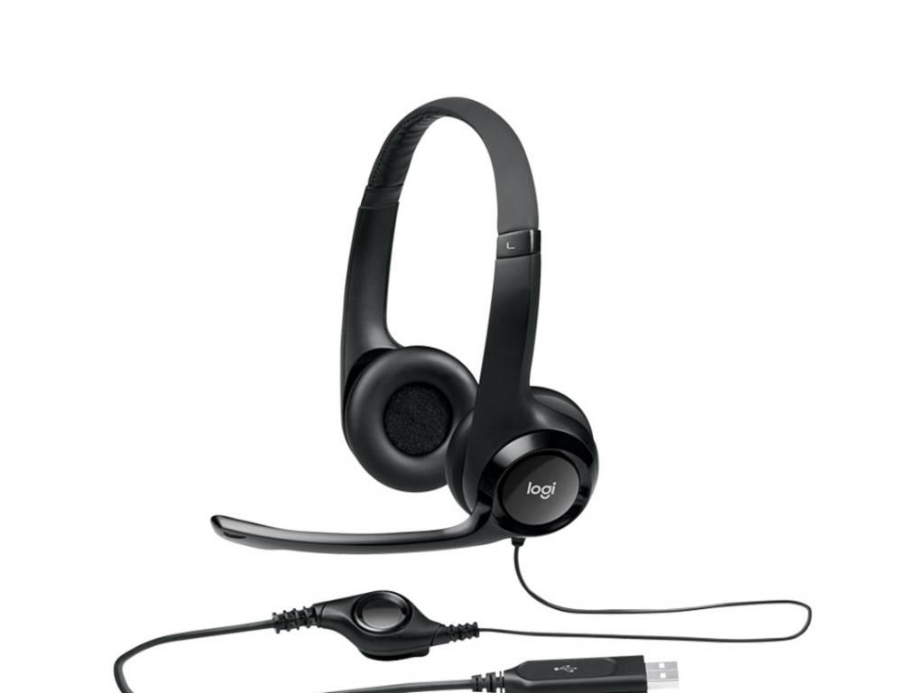 Vincha Logitech Headset H390 USB