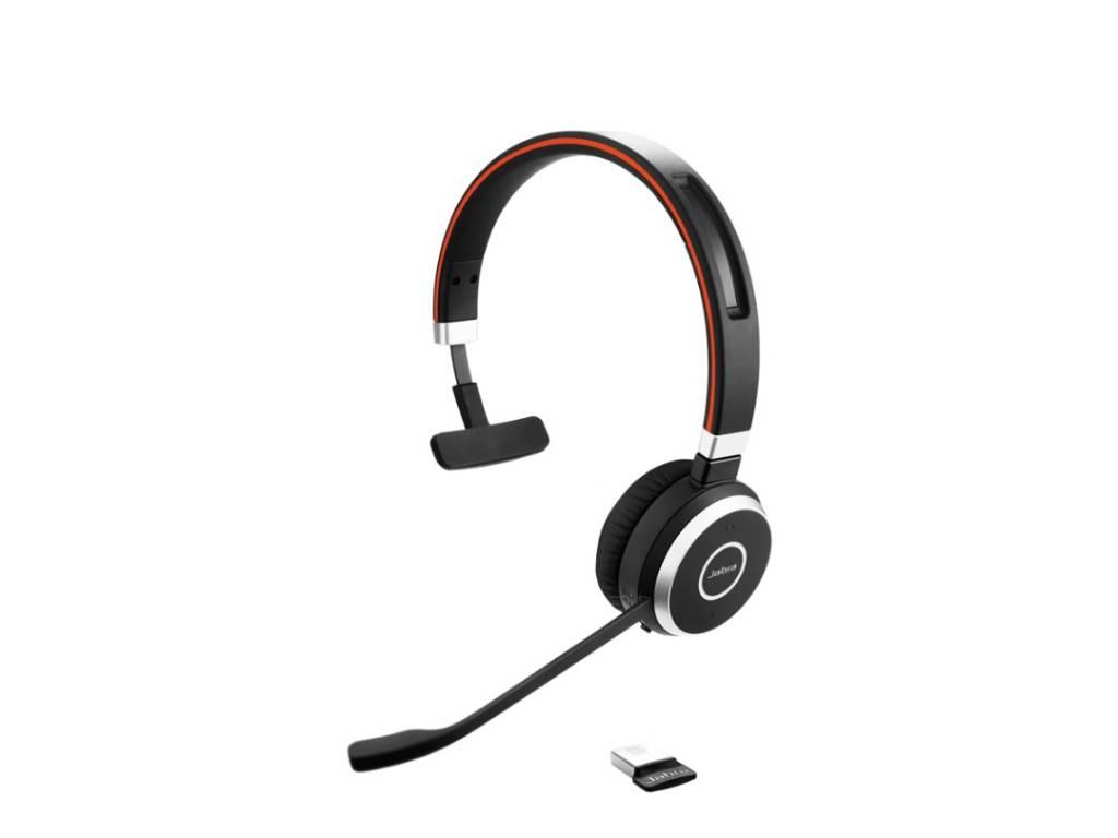 Vincha Headset Jabra Evolve 65 Mono MS (6593-823-309)