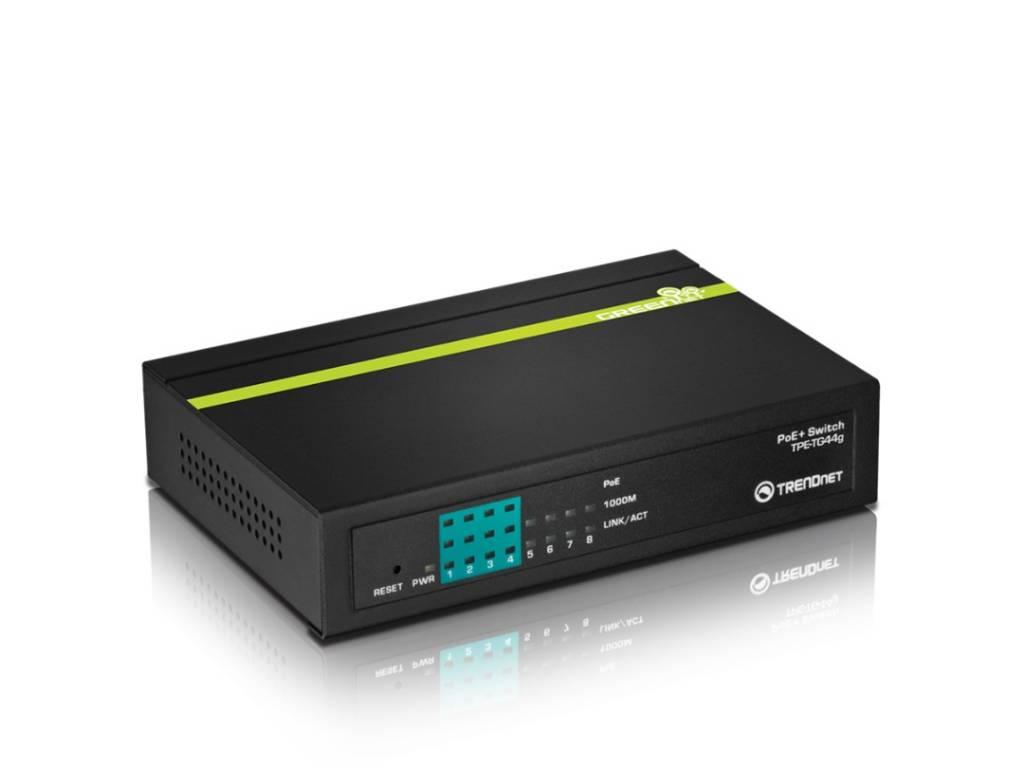 Conmutador TrendNet TPE-TG44g de 8 puertos
