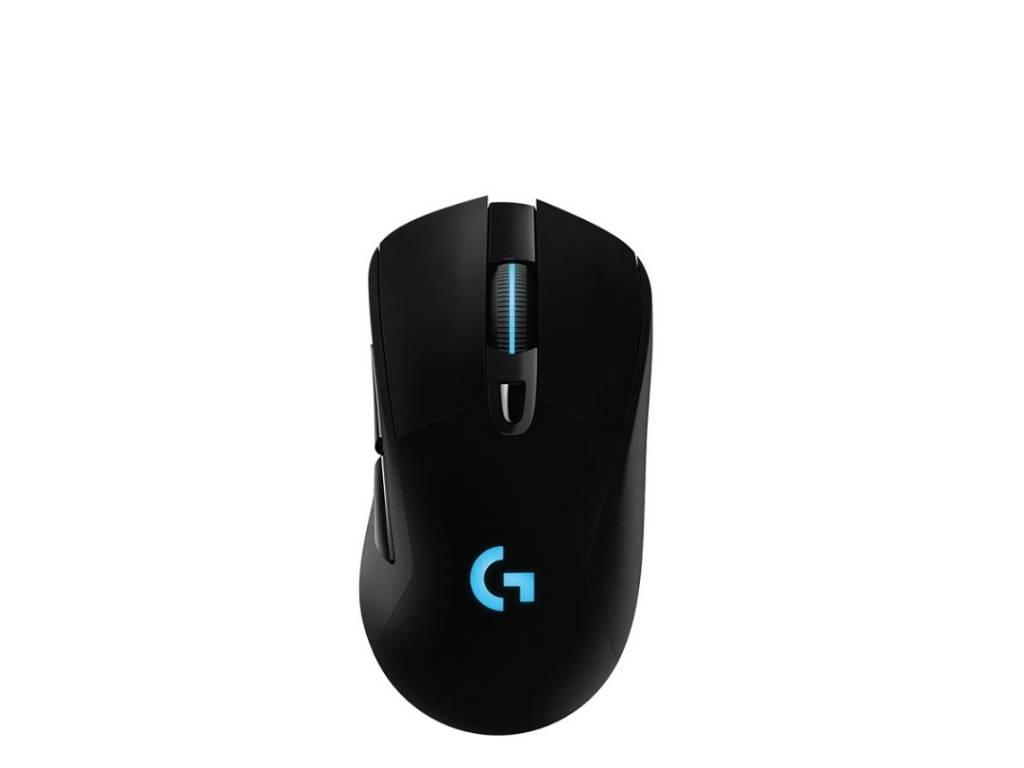 Mouse Logitech 910-005639 G703 Inalámbrico Hero Lightspeed