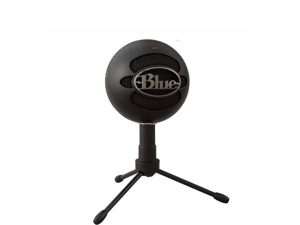 Micrófono Blue Snowball Series Snowball Ice condensador cardioide negro