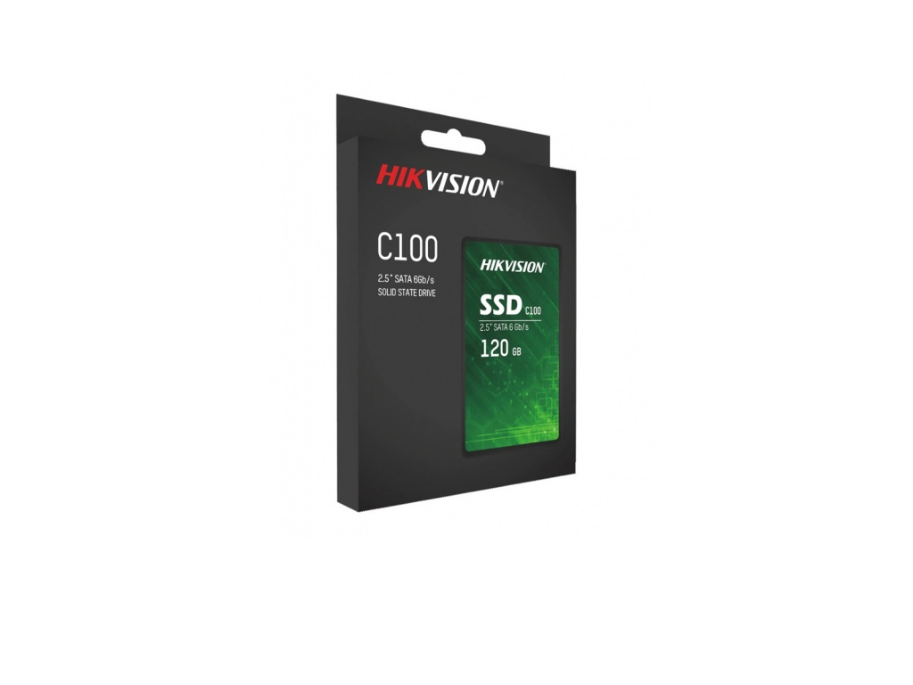 "Disco Sólido SSD Hikvision 120GB Sata3 2.5"" (HS-SSD-C100/120G)"